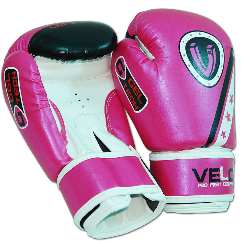 VELO Kids Boxing Gloves MMA Punch Bag Muay Thai Martial art Training Junior